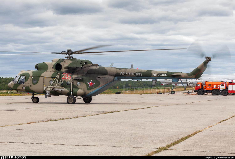 RF-90355 - Mil Mi-8MTV-5 Hip - Russia - Air Force