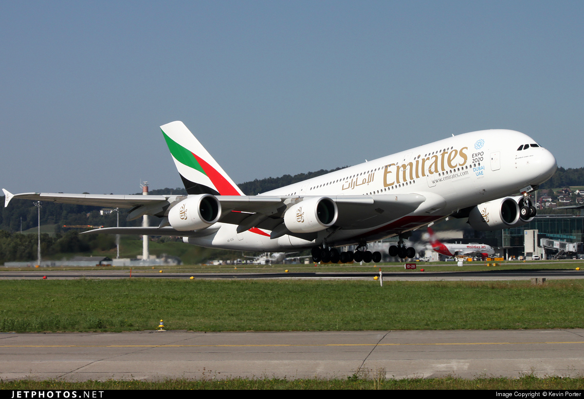 A6 eog airbus a380 861 emirates kevin porter jetphotos - Emirates airlines paris office ...