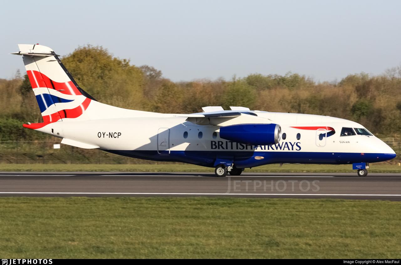 OY-NCP - Dornier Do-328-300 Jet - British Airways (Sun-Air)
