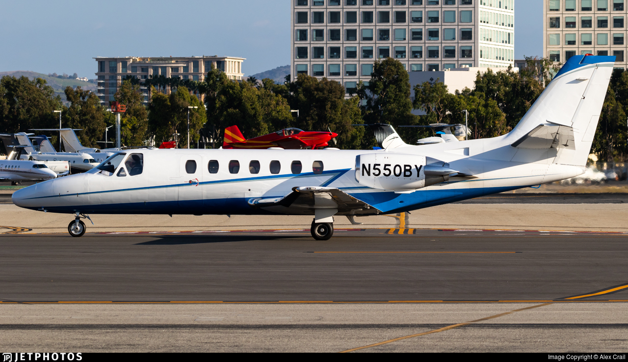 N550BY - Cessna 560 Citation Ultra - Private