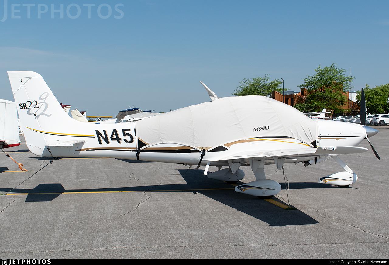 N455BD - Cirrus SR22 - Private