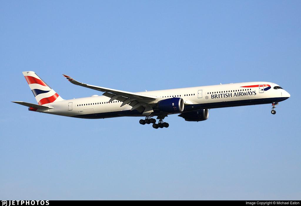 G-XWBC - Airbus A350-1041 - British Airways