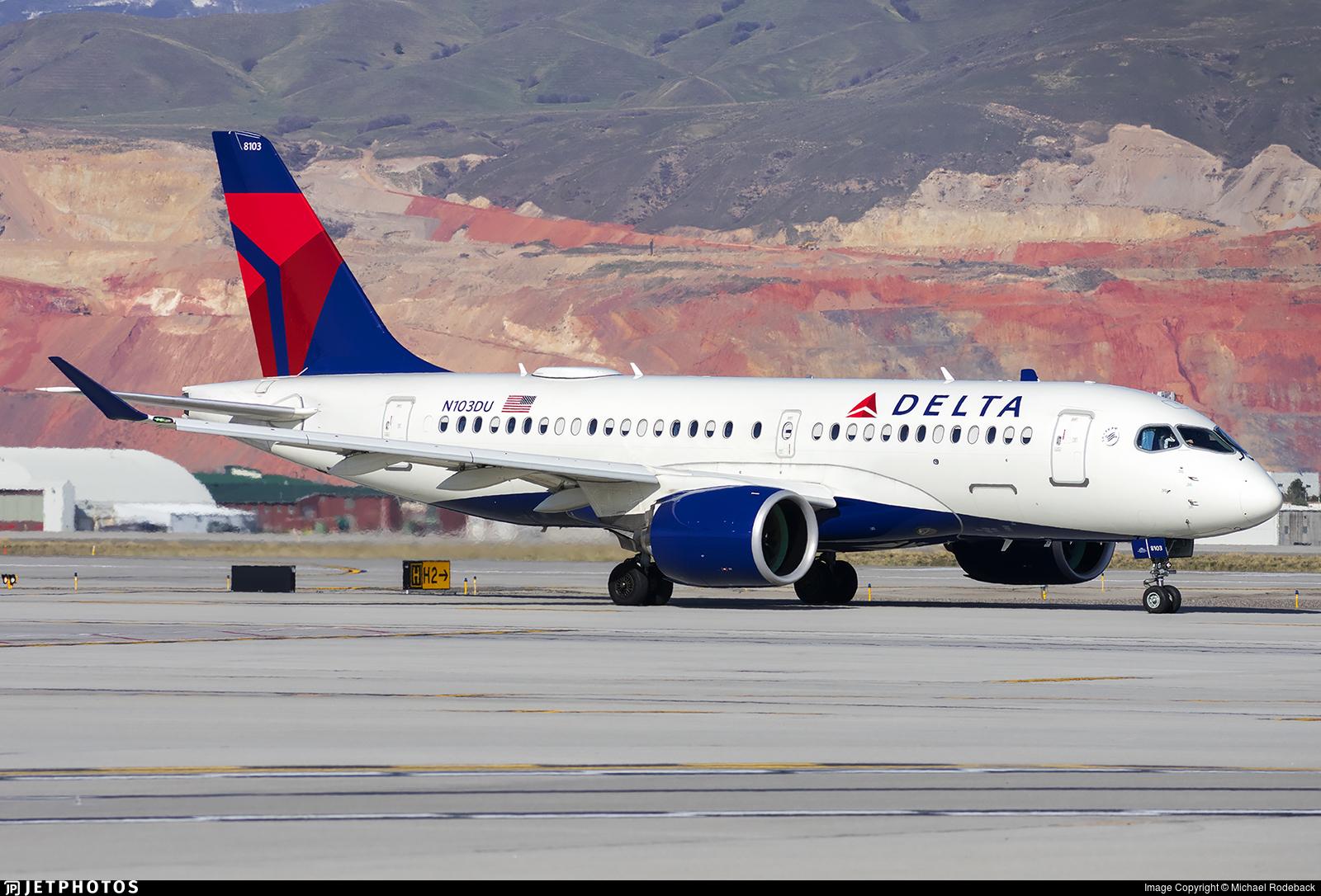 N103DU - Airbus A220-171 - Delta Air Lines