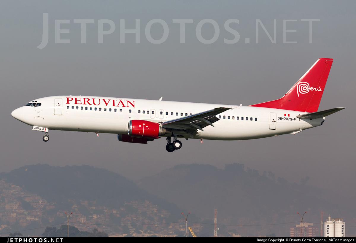 OB-2079-P - Boeing 737-48E - Peruvian Airlines