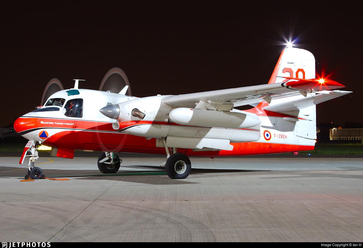 F-ZBEH - Conair S-2 Turbo Firecat - France - Sécurité Civile