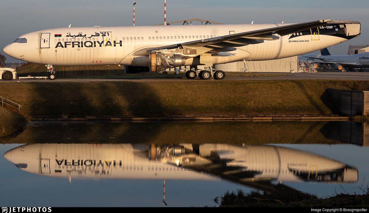 5A-ONP - Airbus A330-202 - Afriqiyah Airways