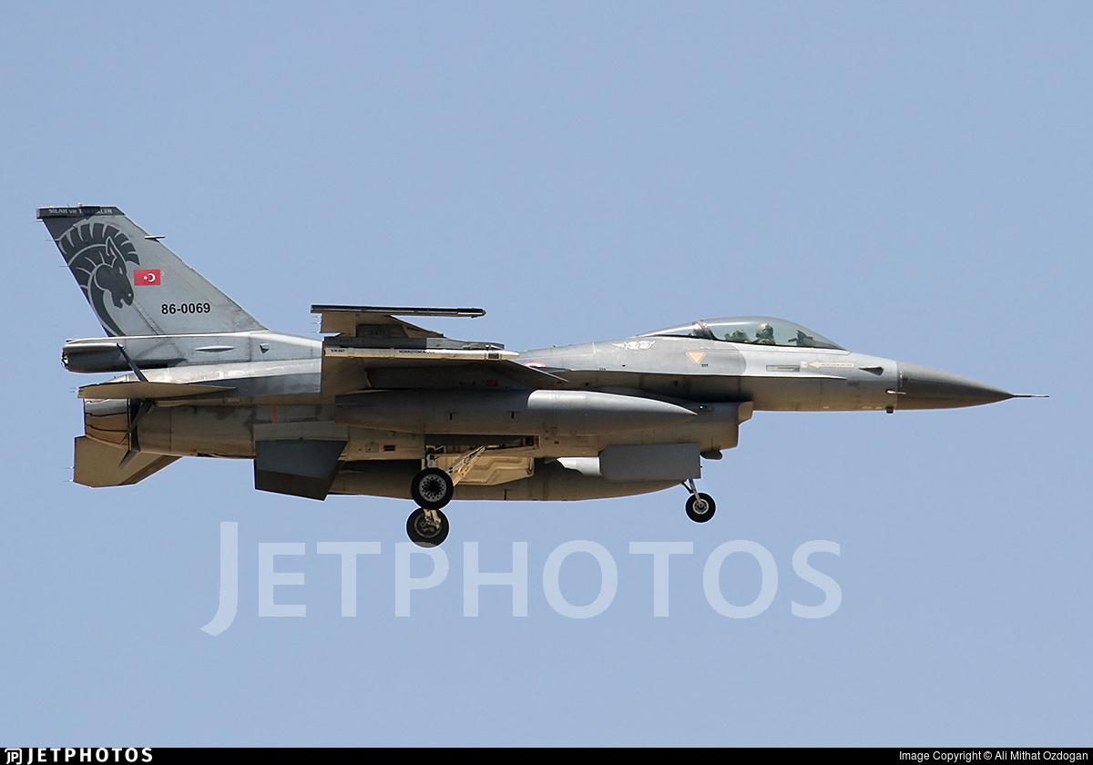 86-0069 - General Dynamics F-16C Fighting Falcon - Turkey - Air Force