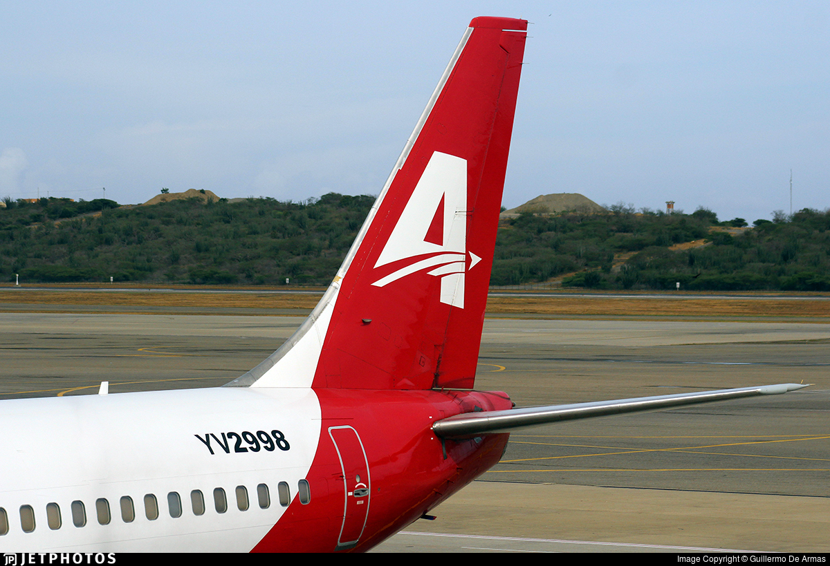 YV2998 - Boeing 737-2Y5(Adv) - Avior Airlines