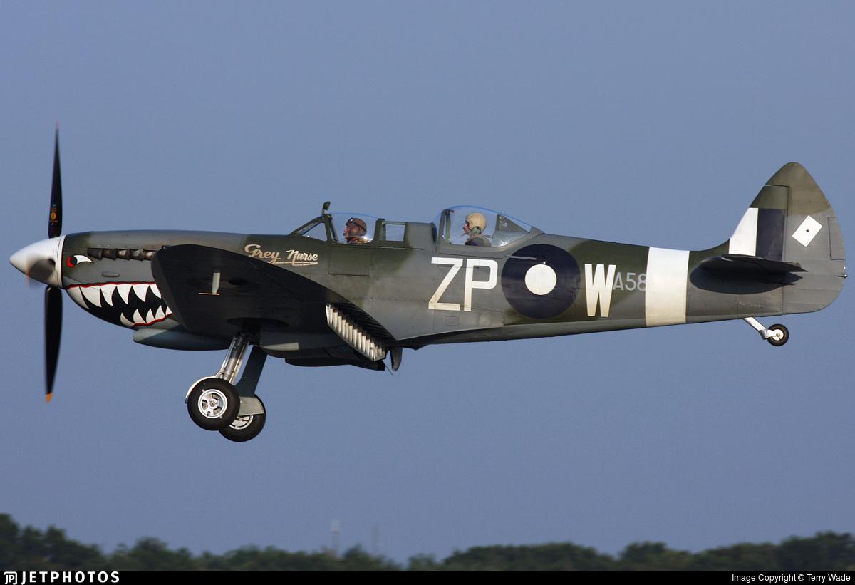 G-AWGB - Supermarine Spitfire Mk.IX - Private