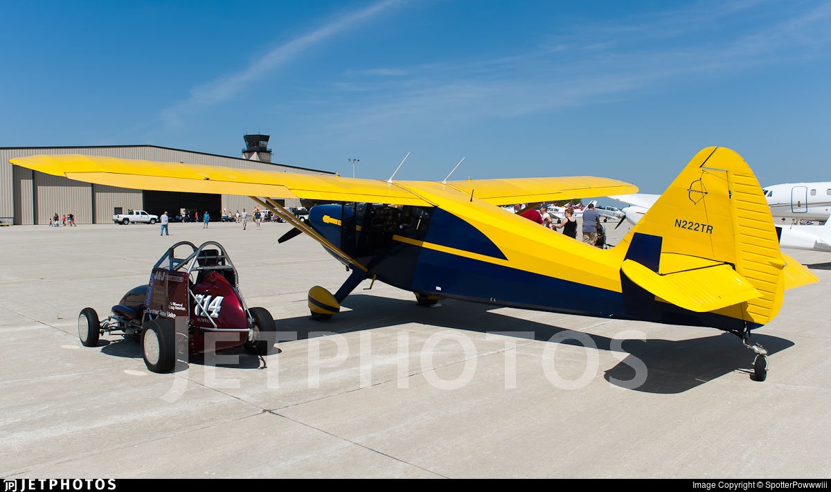 N222TR - Stinson 108 Voyager - Private