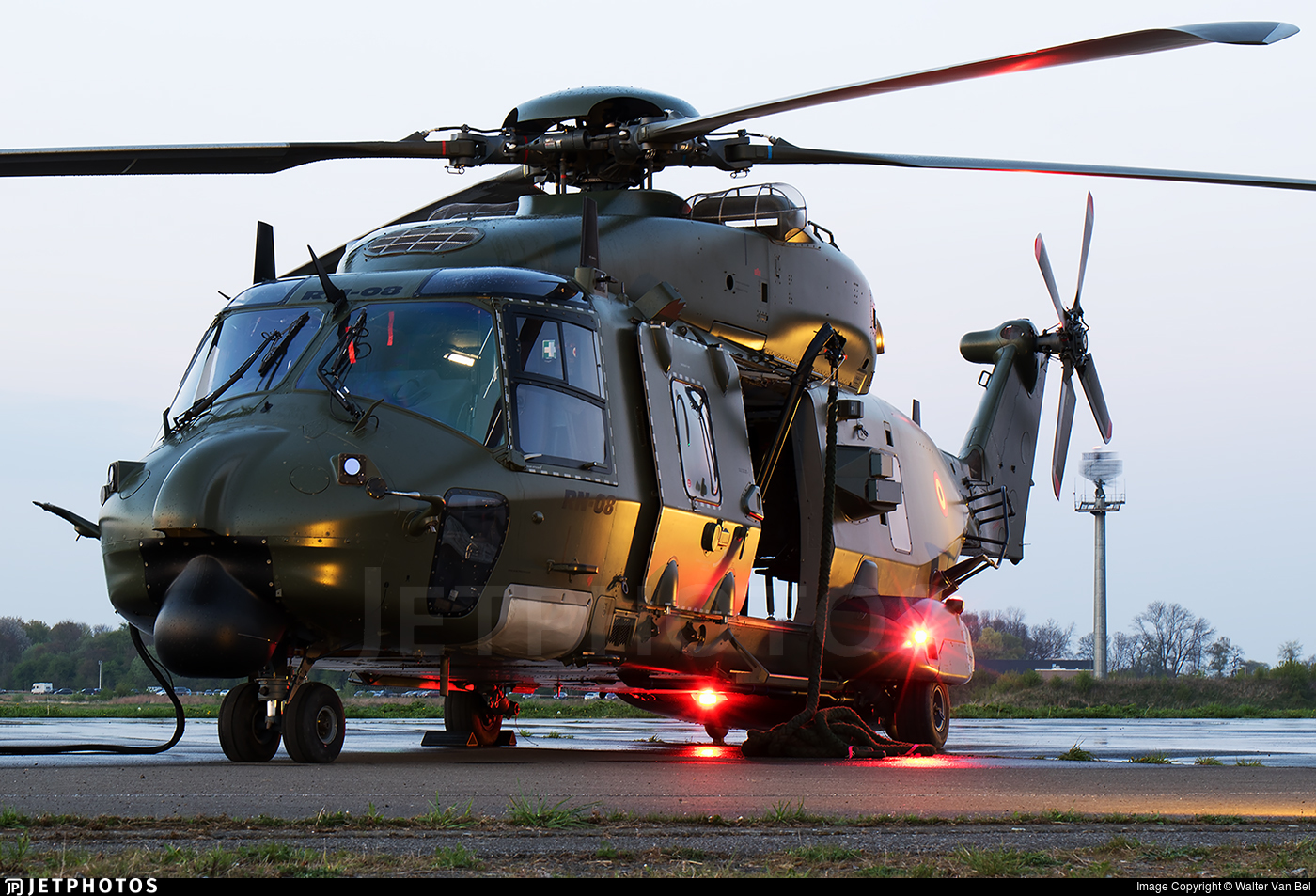 RN-08 - NH Industries NH-90TTH - Belgium - Air Force