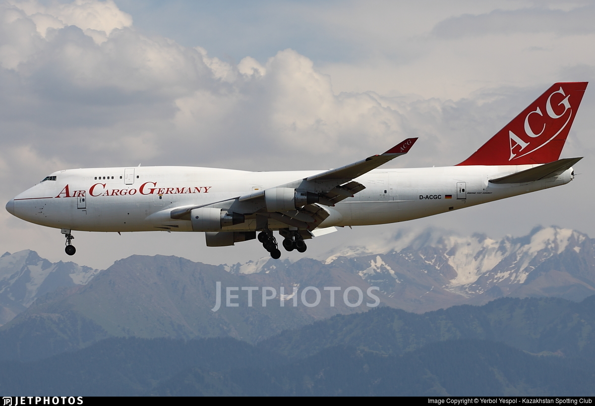 D-ACGC - Boeing 747-412(BCF) - Air Cargo Germany