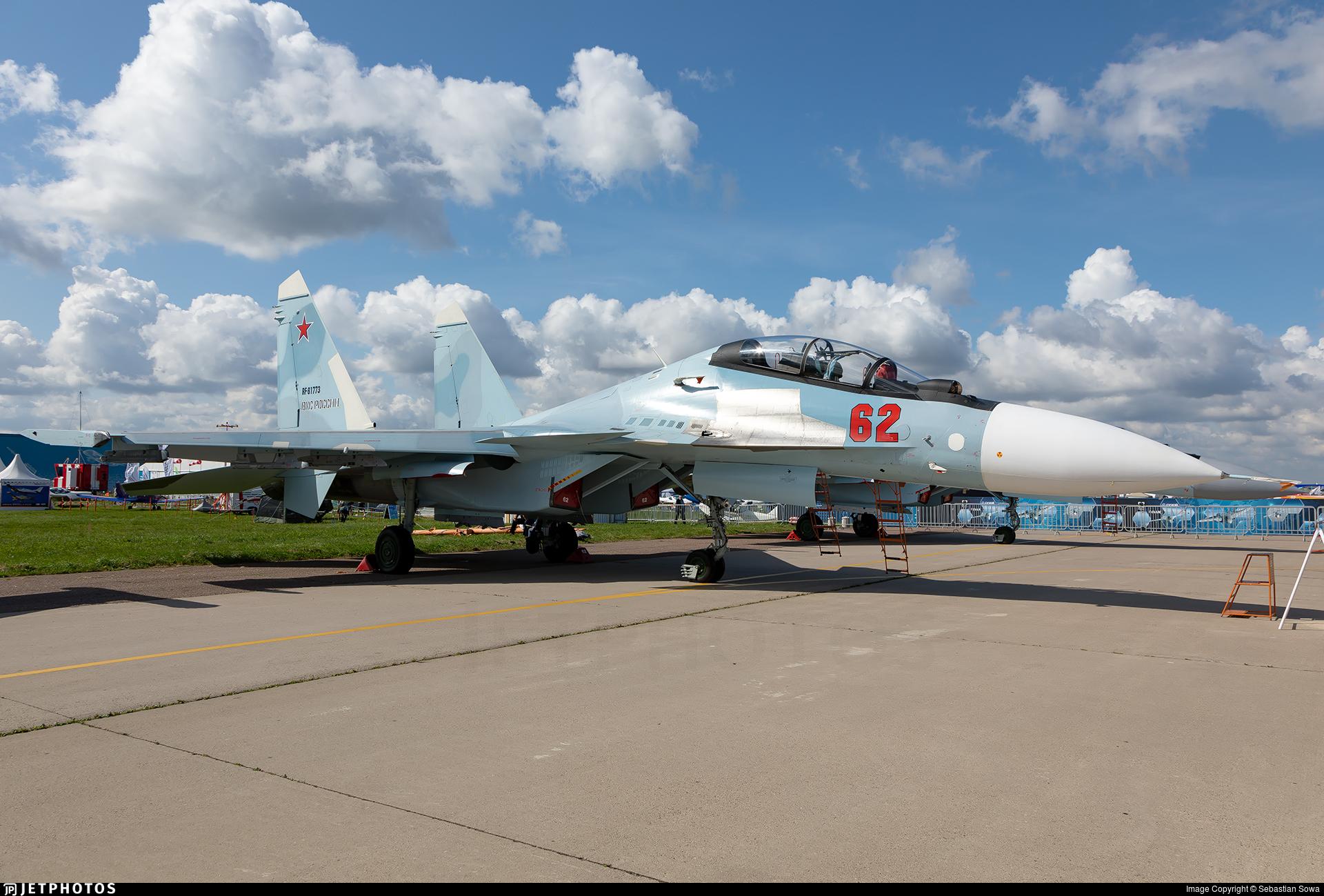 RF-81773 - Sukhoi Su-30SM - Russia - Air Force
