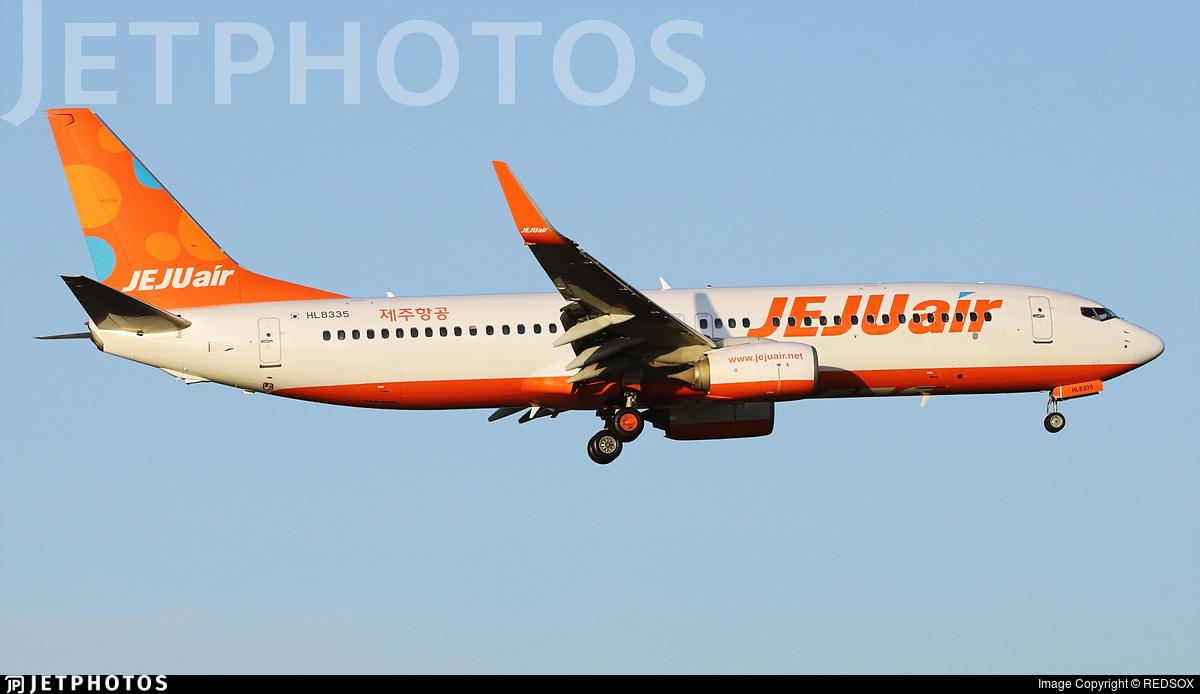 HL8335 - Boeing 737-8JP - Jeju Air