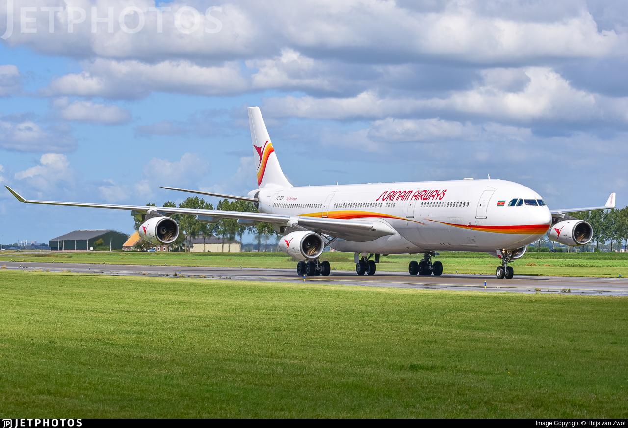 PZ-TCR - Airbus A340-313X - Surinam Airways