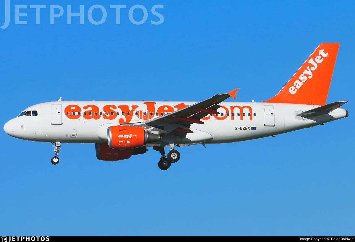 G-EZBX - Airbus A319-111 - easyJet