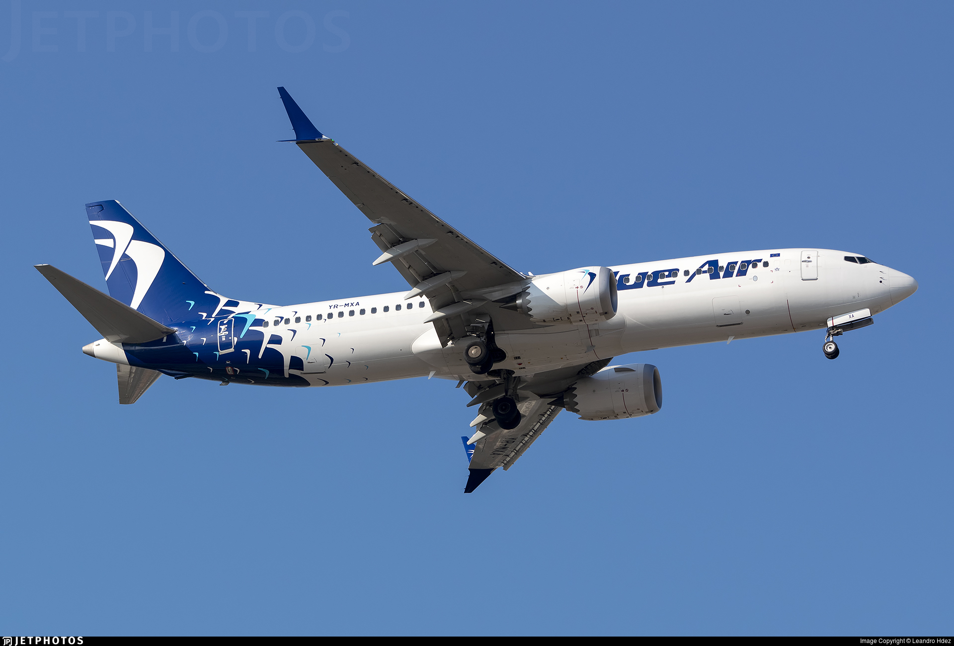 YR-MXA - Boeing 737-8 MAX - Blue Air