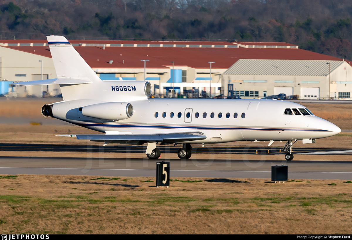 N906CM - Dassault Falcon 900 - Private