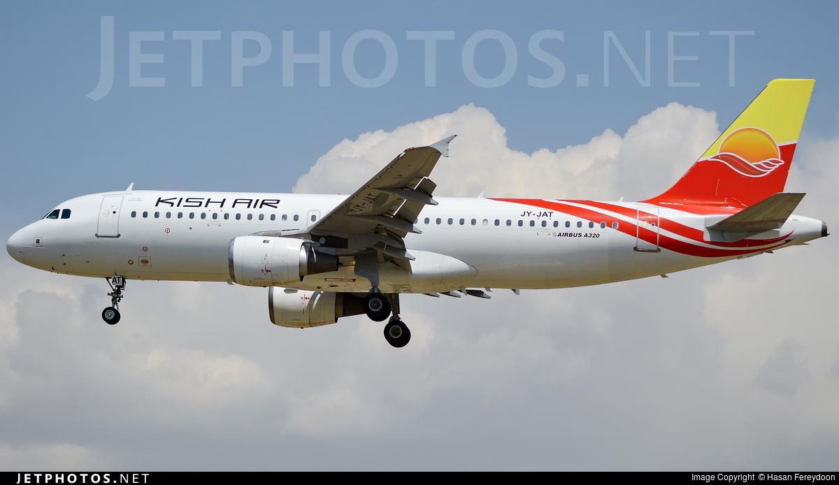 JY-JAT - Airbus A320-211 - Kish Air