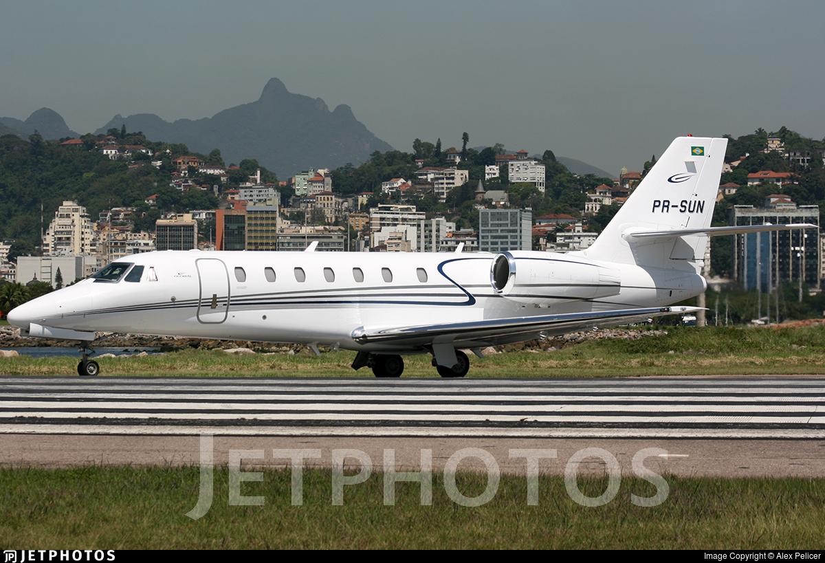 PR-SUN - Cessna 680 Citation Sovereign - Global Táxi Aéreo