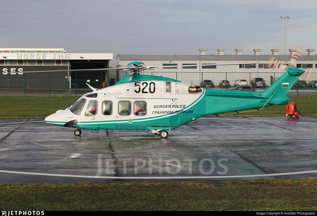 520 - Agusta-Westland AW-139 - Bulgaria - Border Police