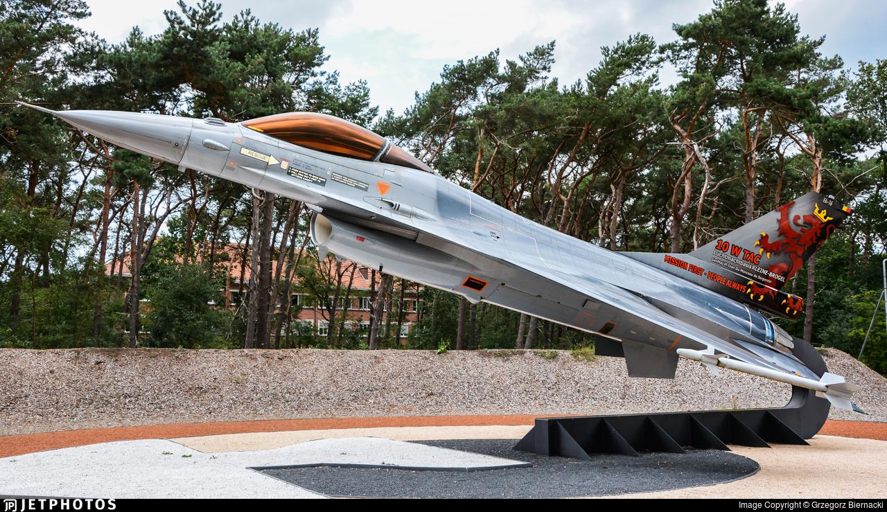 FA-16 - General Dynamics F-16AM Fighting Falcon - Belgium - Air Force