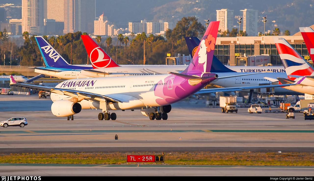 N379HA - Airbus A330-243 - Hawaiian Airlines