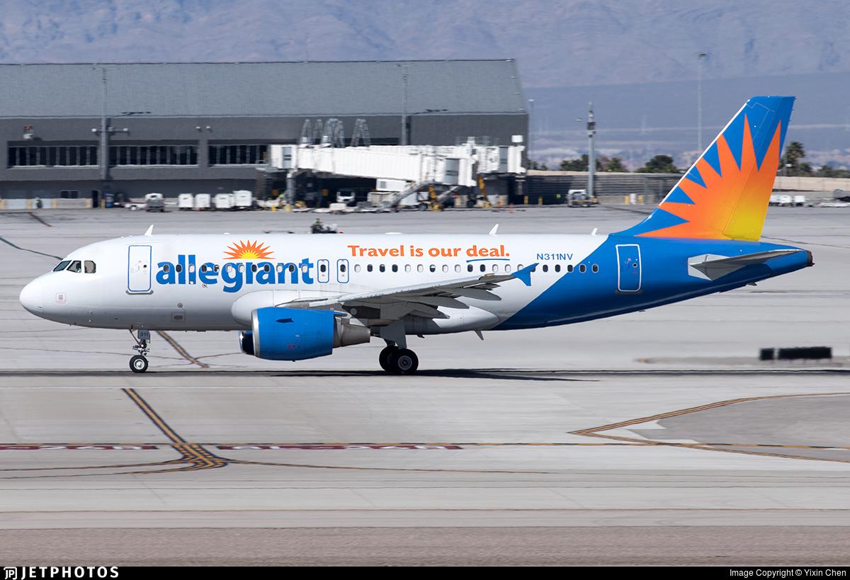 N311NV - Airbus A319-111 - Allegiant Air