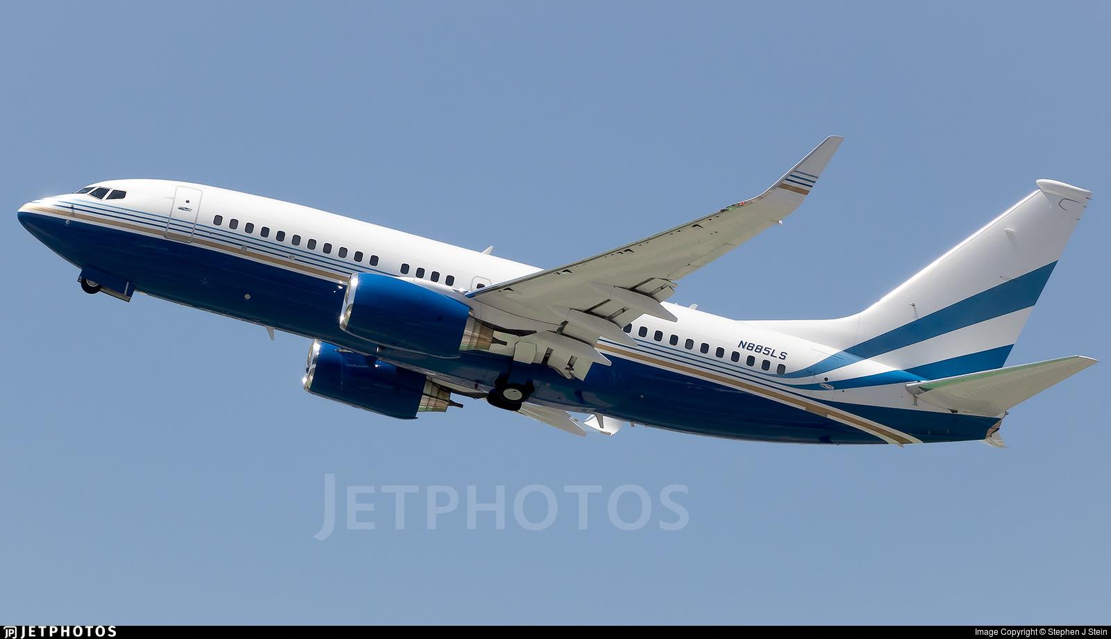 N885LS - Boeing 737-7EL(BBJ) - Las Vegas Sands Corporation