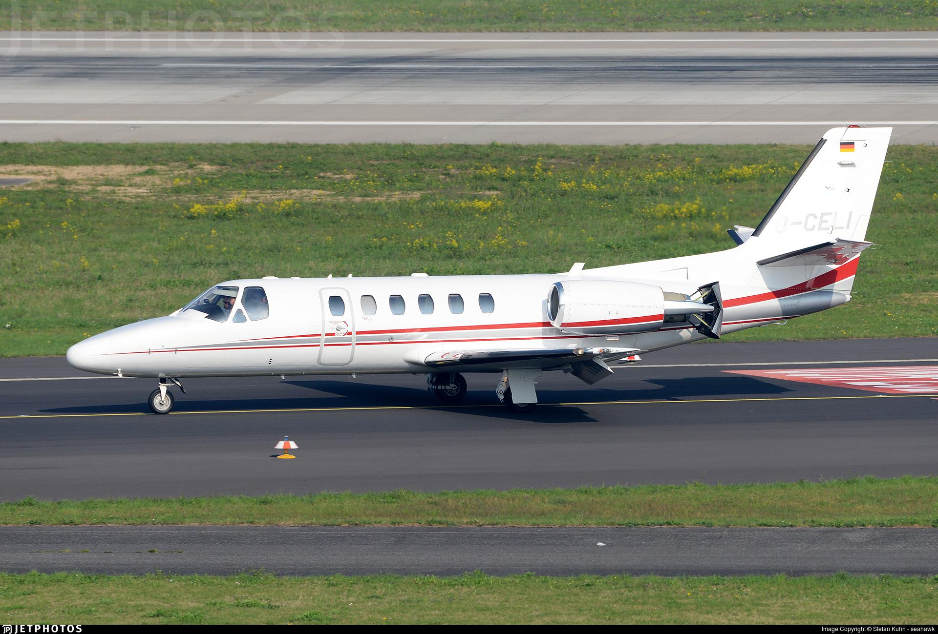 D-CELI - Cessna 550B Citation Bravo - Euro Link