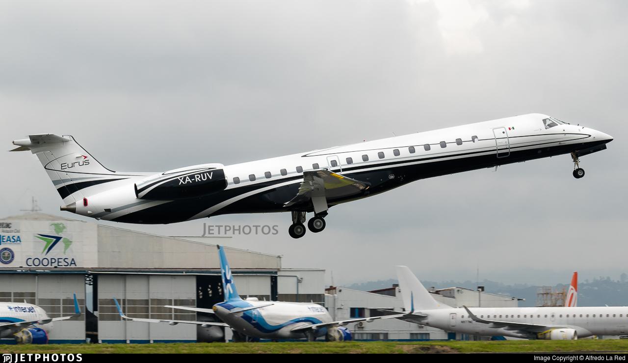 XA-RUV - Embraer ERJ-145LR - Eurus Aviation