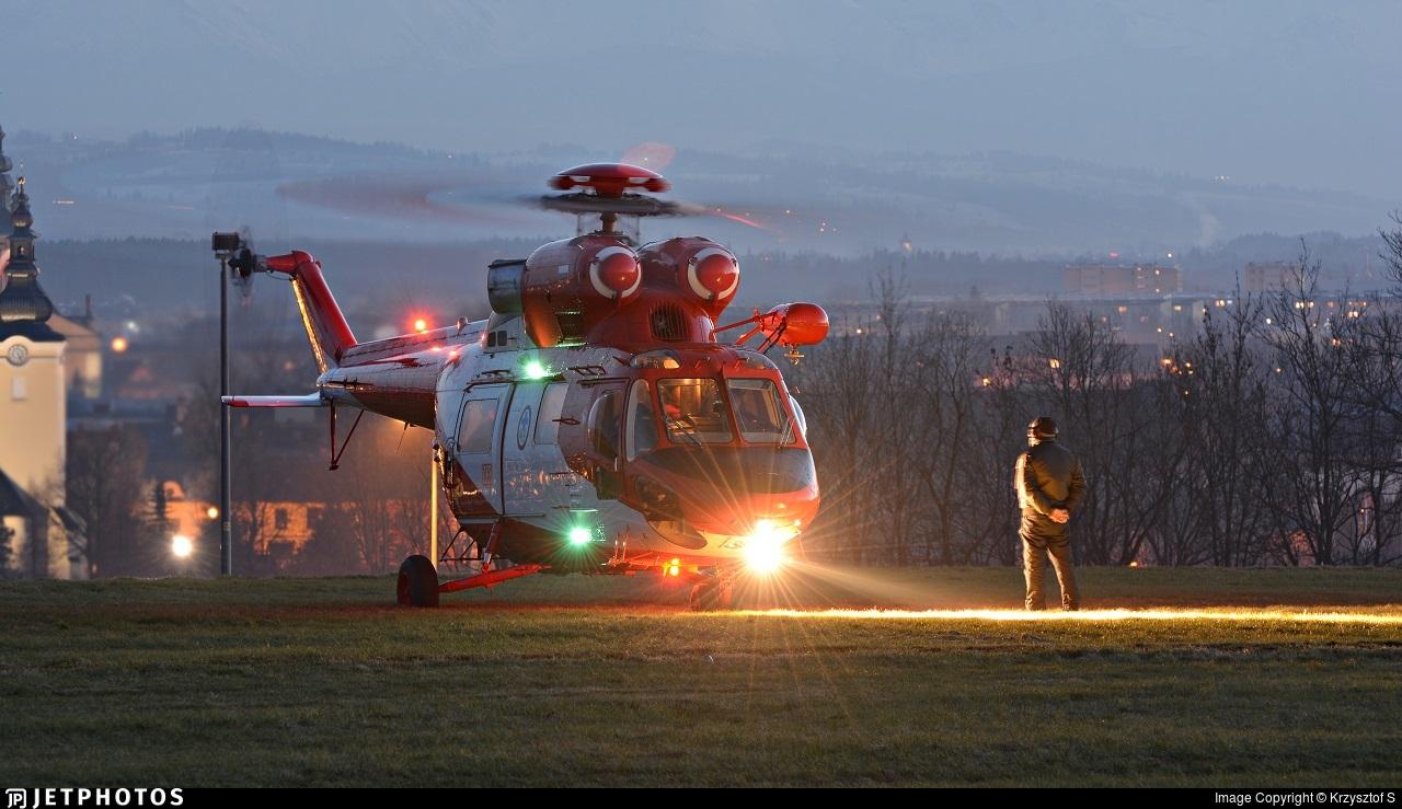 SP-SXW - PZL-Swidnik W3 Sokol - Tatra Mountains Rescue (TOPR)