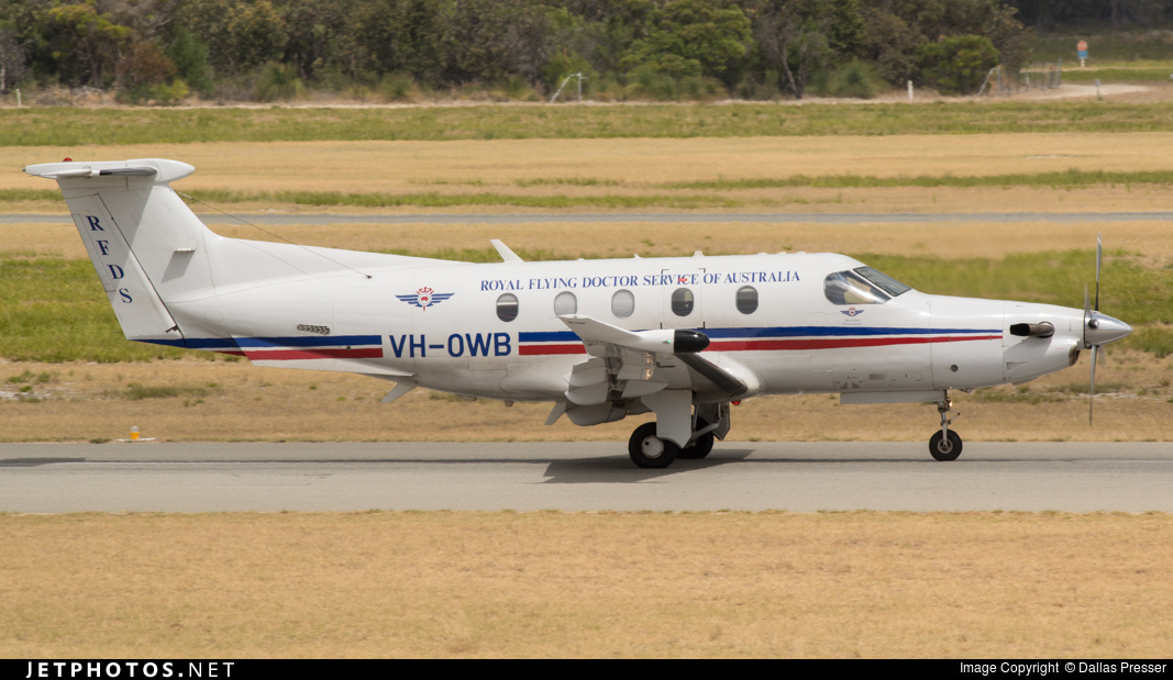 VH-OWB - Pilatus PC-12/47E - Royal Flying Doctor Service of Australia (Western Operations)