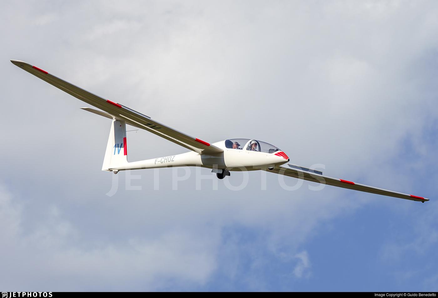 F-CHOZ - DG Flugzeugbau DG-505 Elan Orion - Private