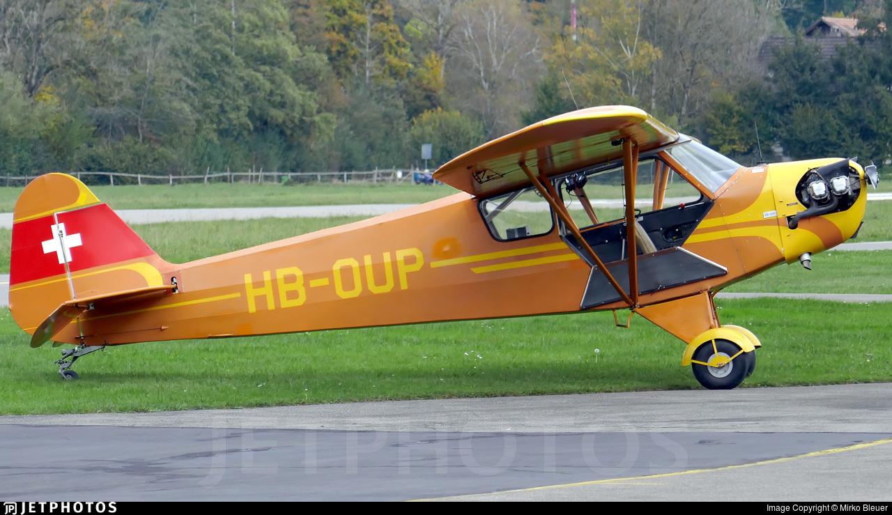 HB-OUP - Piper J-3C-90 Cub - Private
