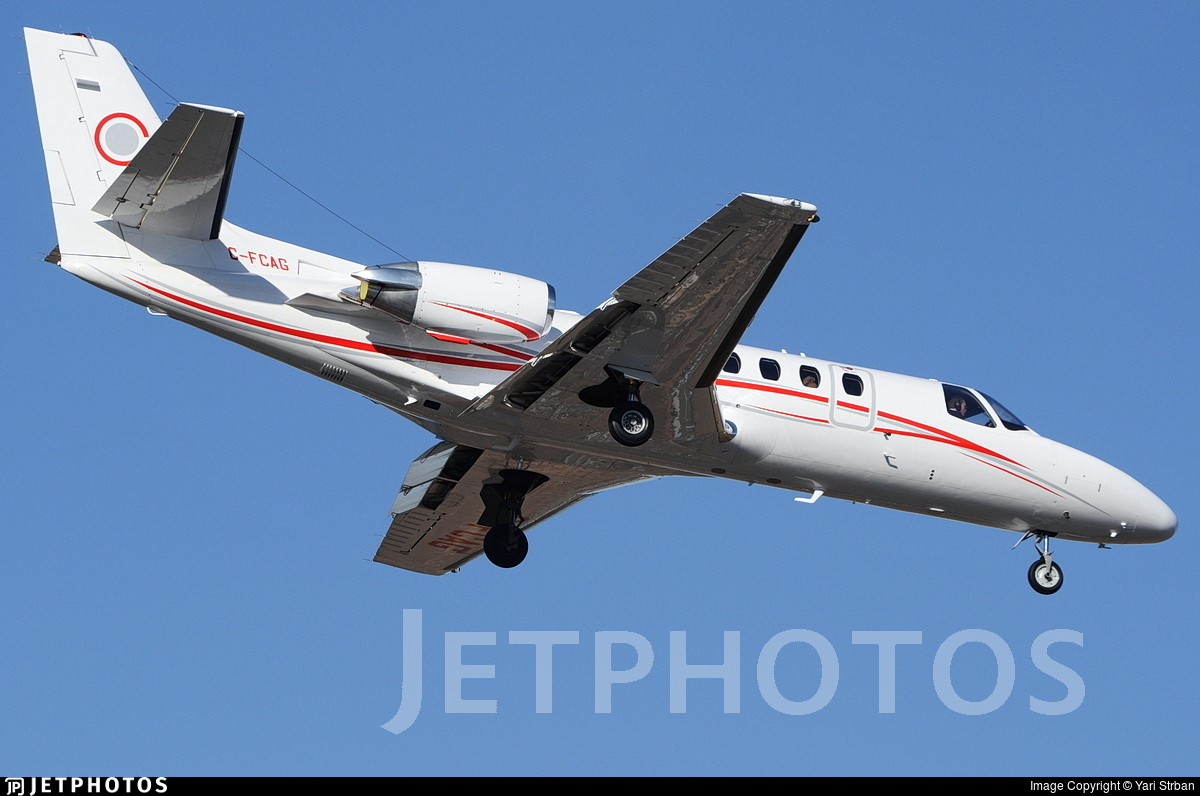 C-FCAG - Cessna 560 Citation Ultra - Chartright Air