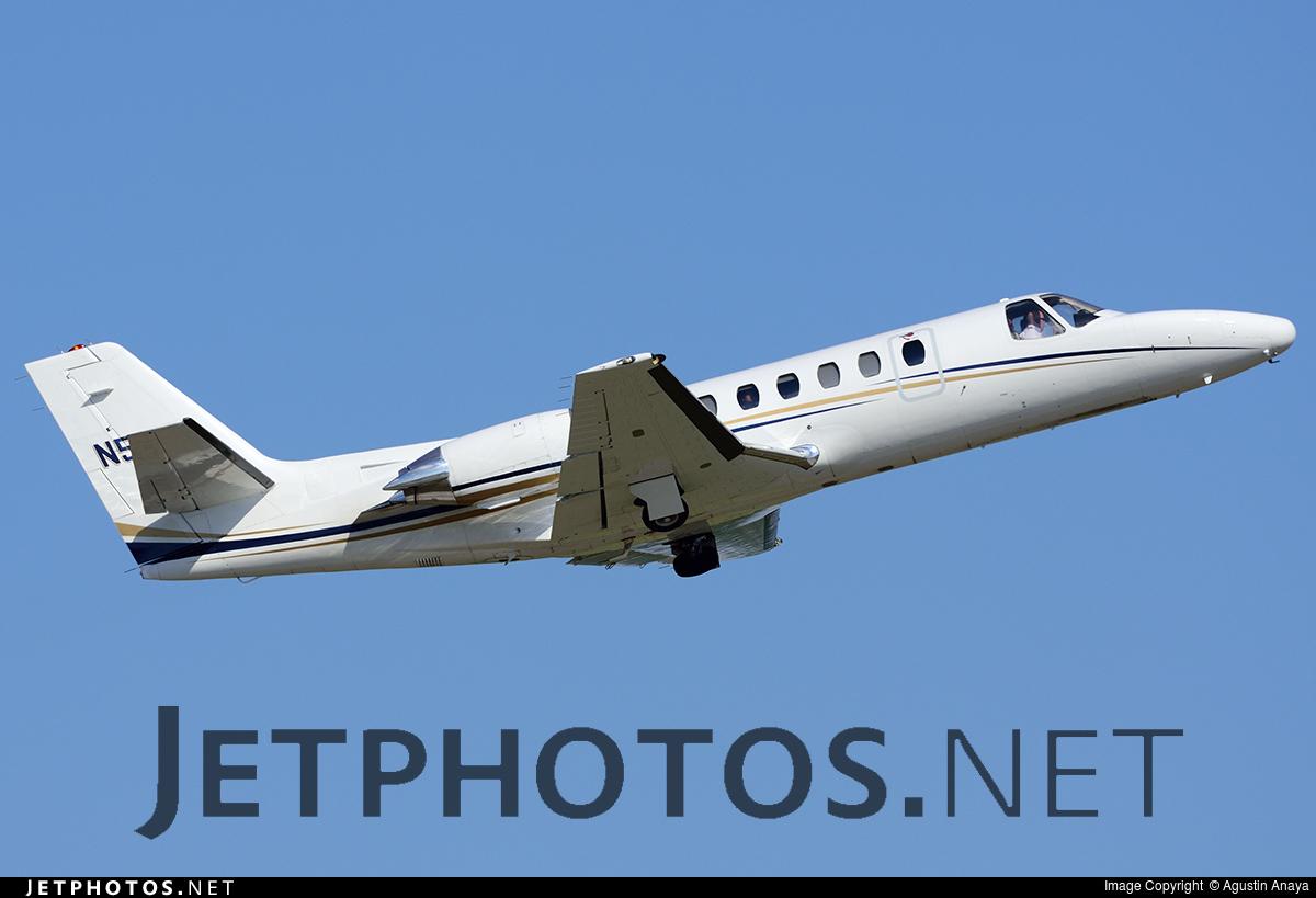 N55EA - Cessna 560 Citation V - Private