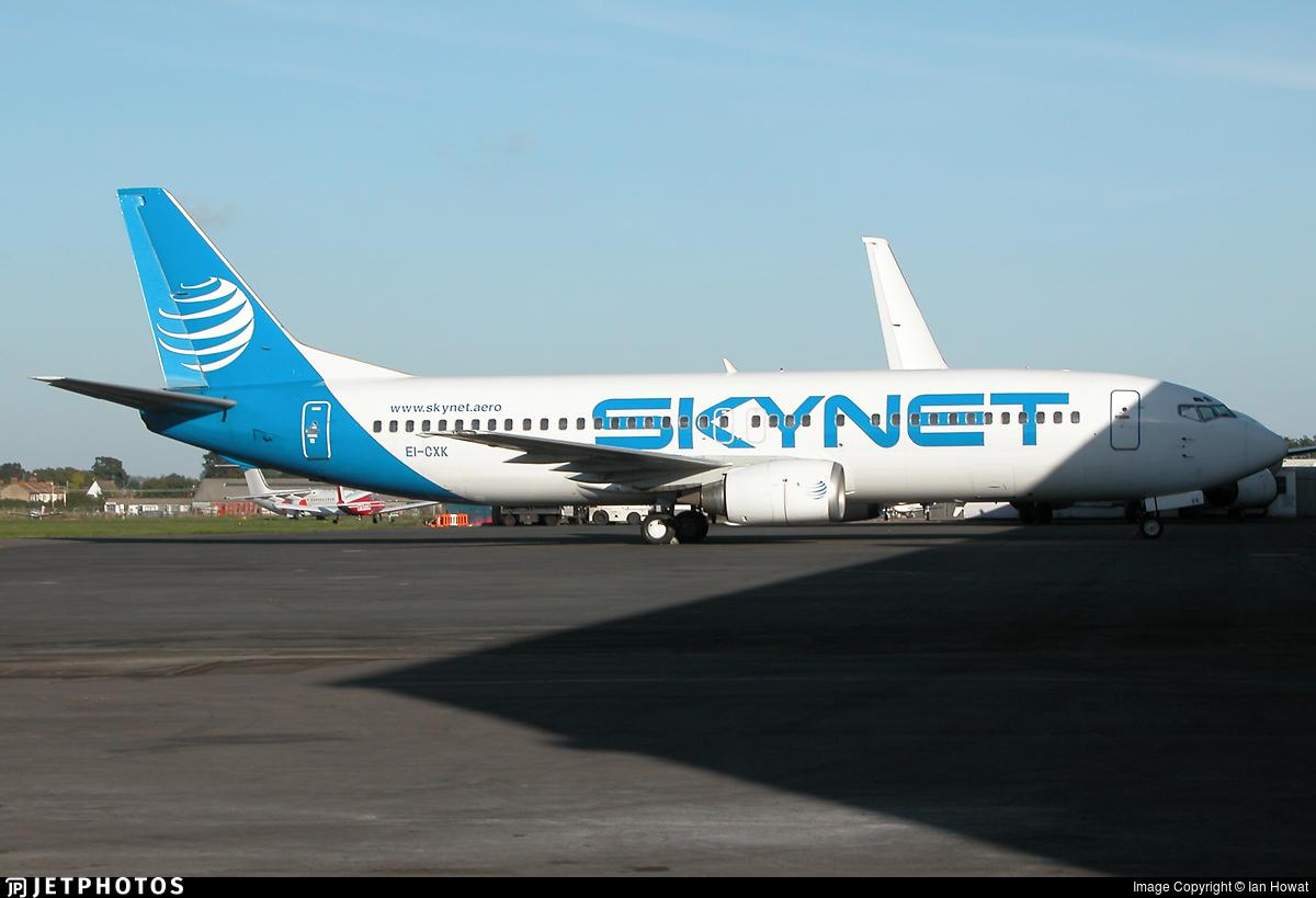 EI-CXK - Boeing 737-4S3 - Skynet Airlines