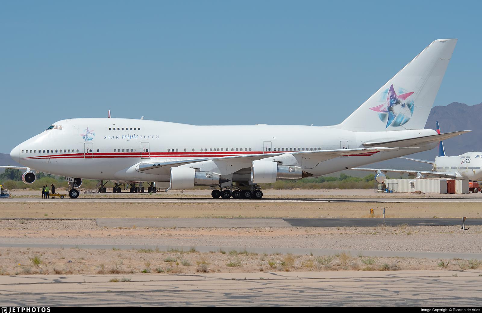 P4-FSH - Boeing 747SP-31 - Star Triple Seven