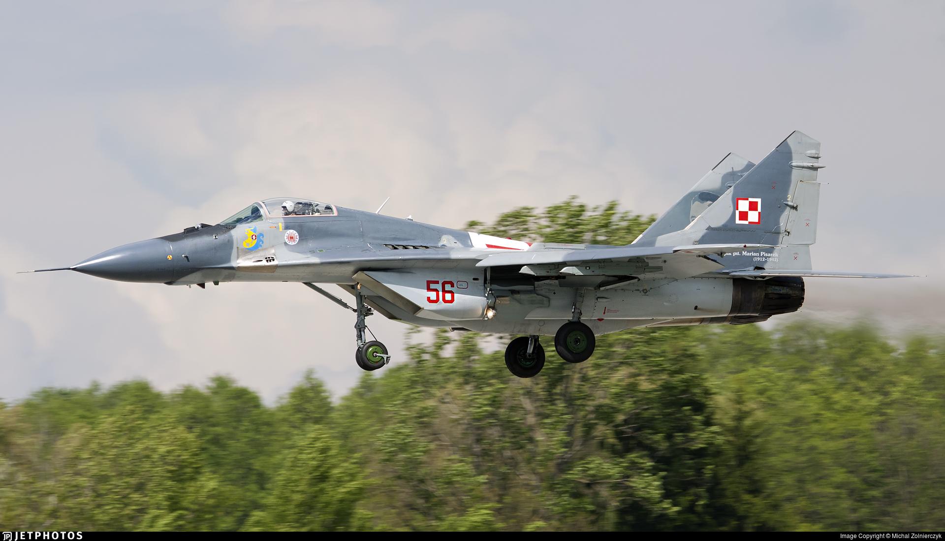 56 - Mikoyan-Gurevich MiG-29 Fulcrum - Poland - Air Force