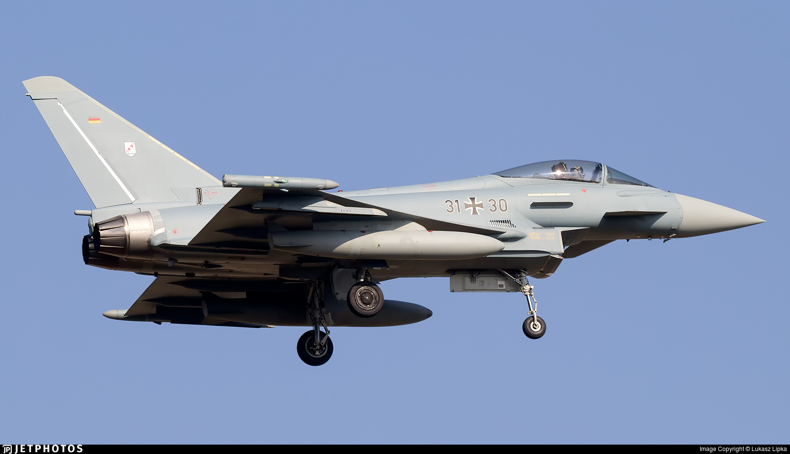 31-30 - Eurofighter Typhoon EF2000 - Germany - Air Force