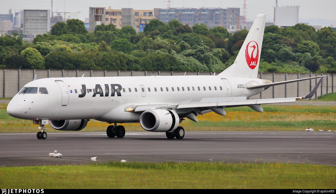 JA253J - Embraer 190-100STD - J-Air