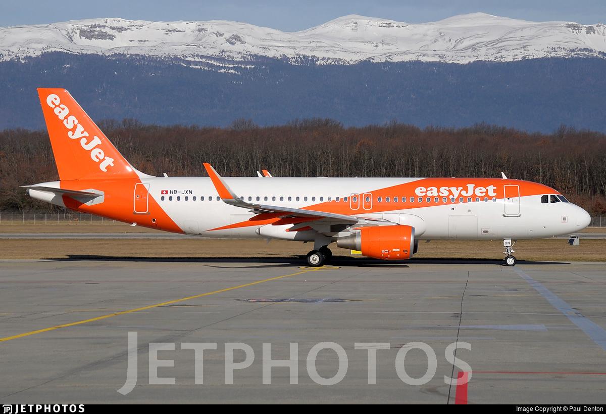 HB-JXN - Airbus A320-214 - easyJet Switzerland