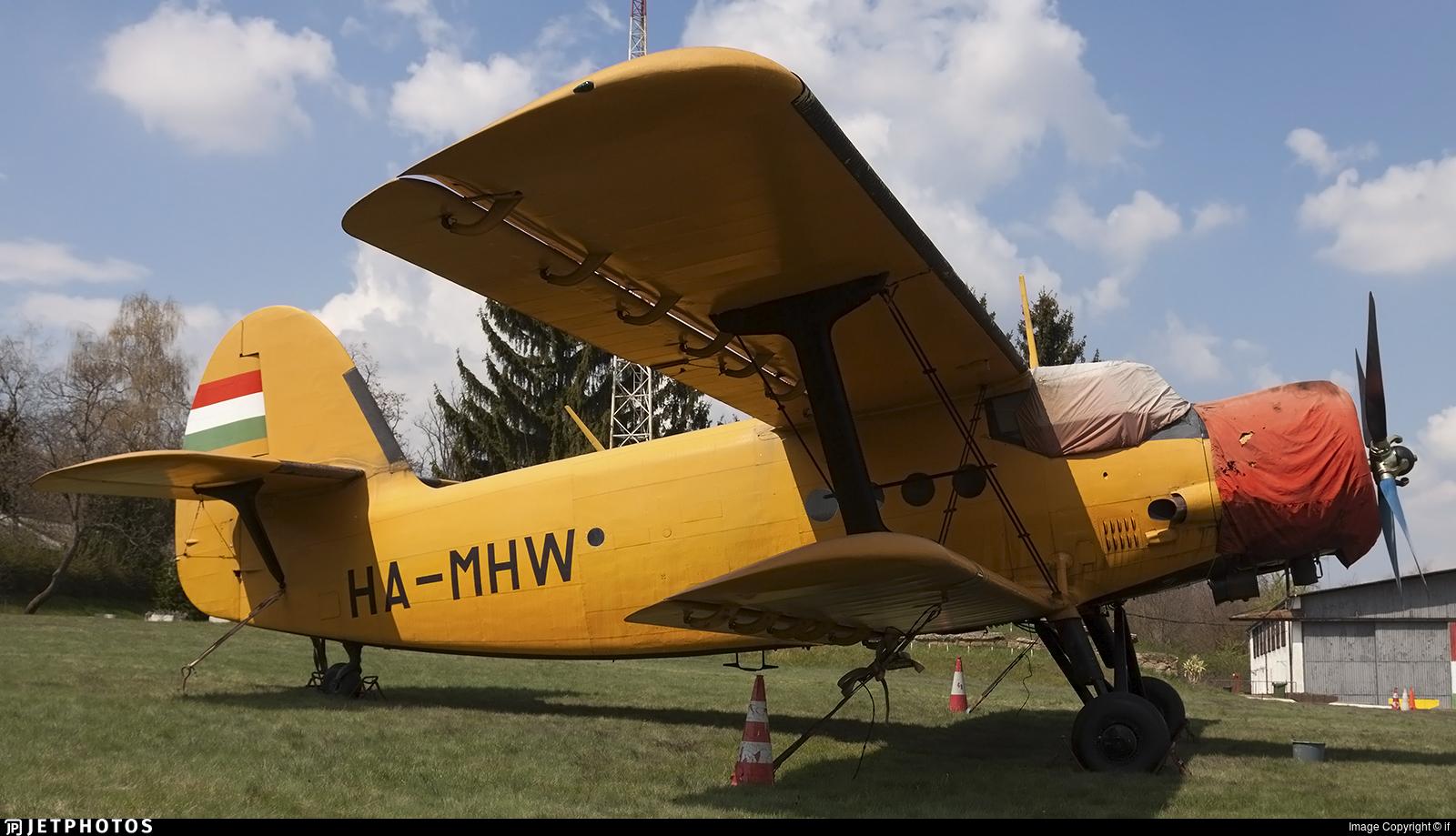 HA-MHW - PZL-Mielec An-2R - Private