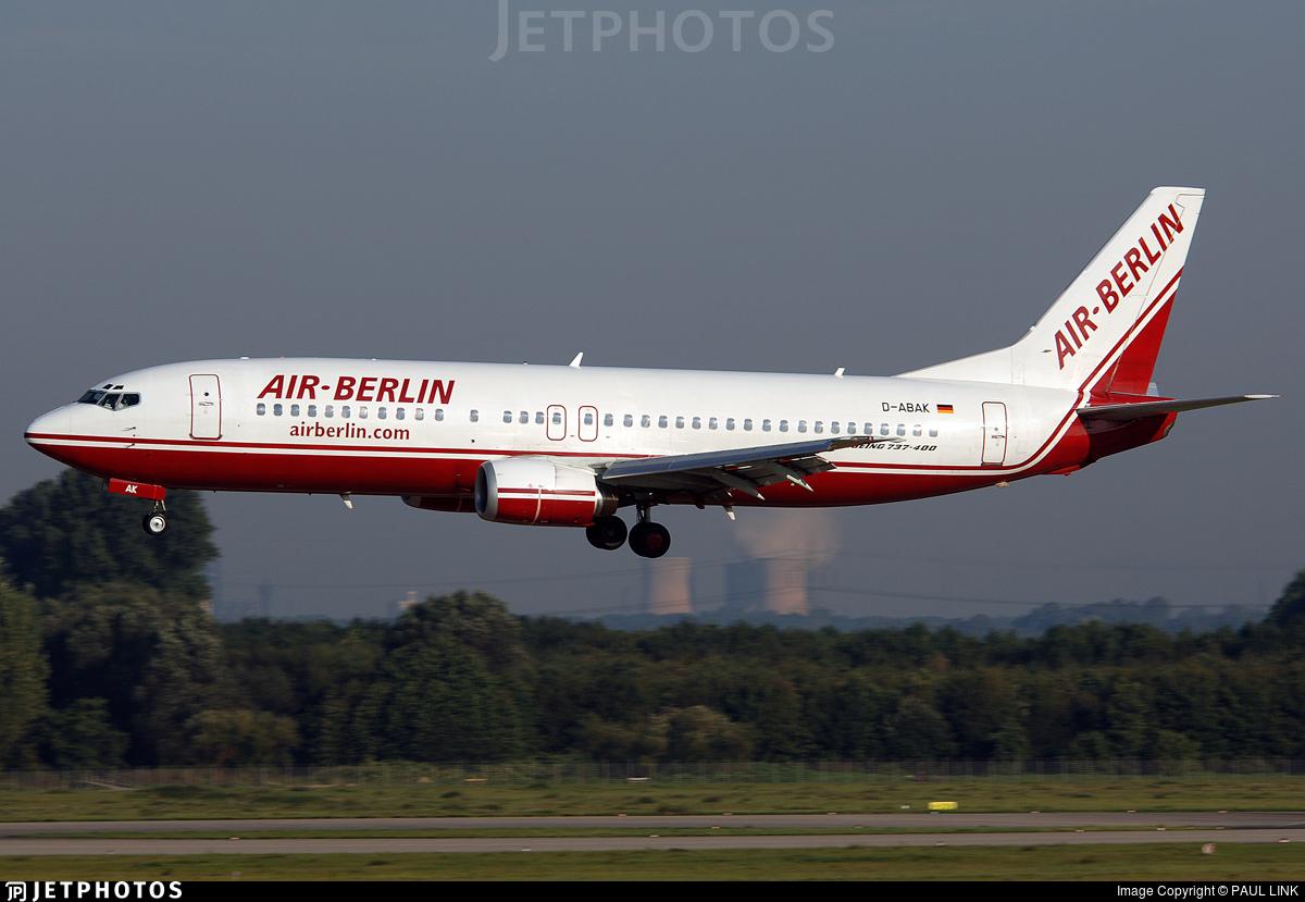 D-ABAK - Boeing 737-46J - Air Berlin