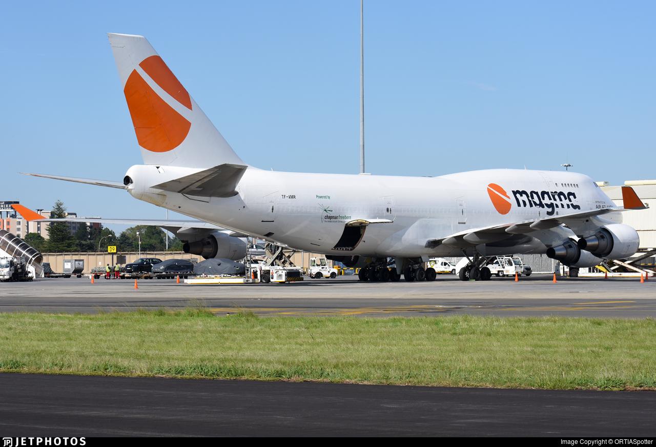 TF-AMR - Boeing 747-45E(BDSF) - Magma Aviation (Air Atlanta Icelandic)