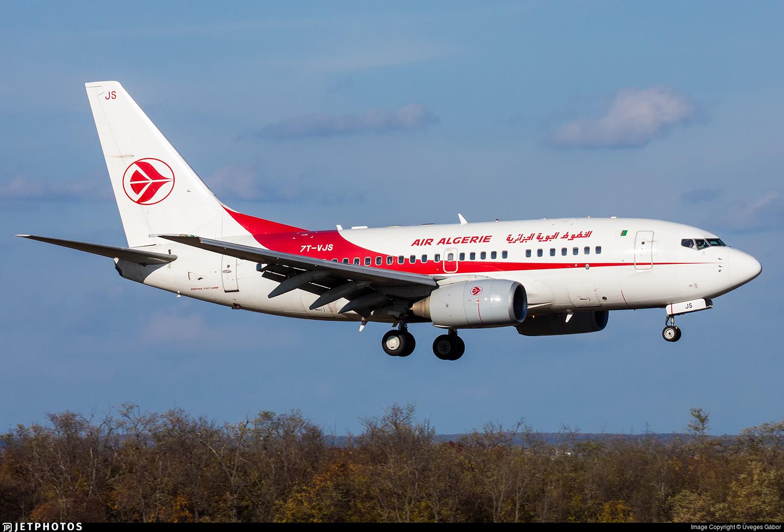 7T-VJS - Boeing 737-6D6 - Air Algérie