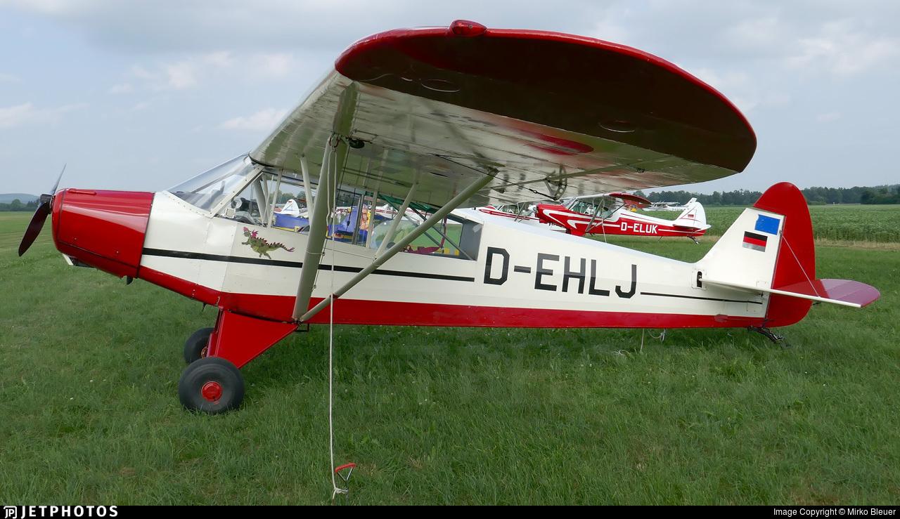 D-EHLJ - Piper PA-18-95 Super Cub - Private