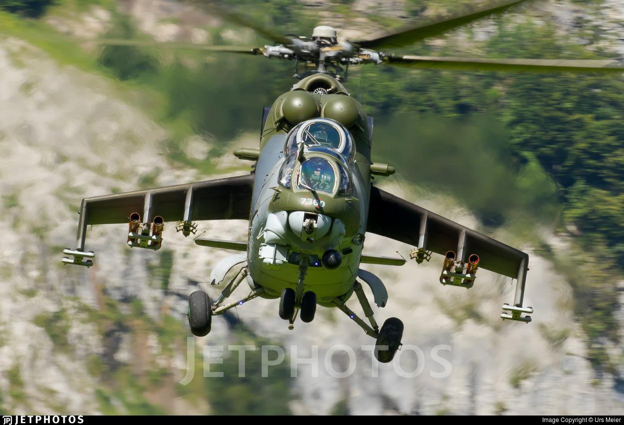 7360 - Mil Mi-24V Hind E - Czech Republic - Air Force