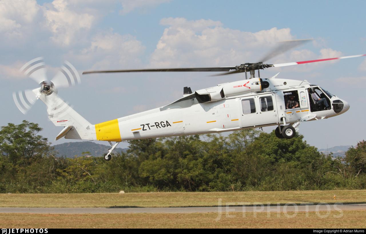ZT-RGA - Sikorsky S-70A-28 Blackhawk - Private